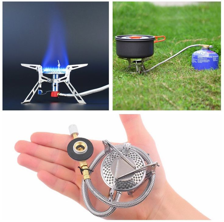 Stainless Steel Outdoor Gas Camping Stove