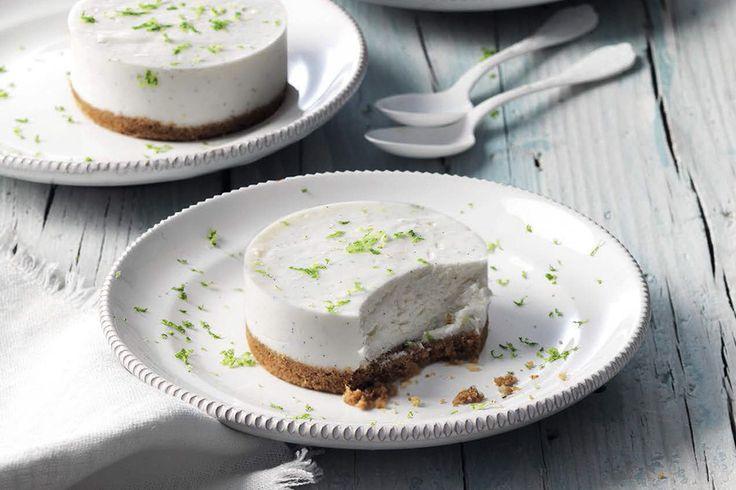 Mini cheesecake al lime
