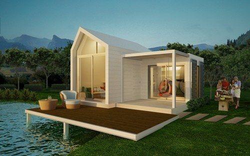 บ้านน๊อคดาวน์: Dreams Houses, Houses Ideas, Decor Items, Prefab Houses, Small Houses, บ้านน๊อคดาวน์