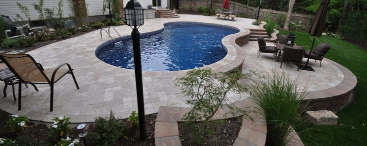 17 Best Images About Backyard Paver Tiles On Pinterest Pewter Concrete Patios And Pool Coping