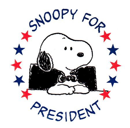 Snoopy for President.