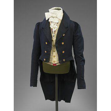 1815-1820 costume homme