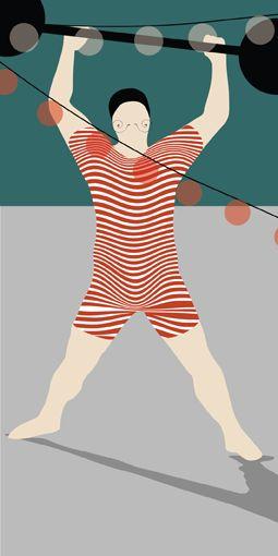 Sirkus - illustrasjoner av Ragnhild Furulund og Hege Evensen