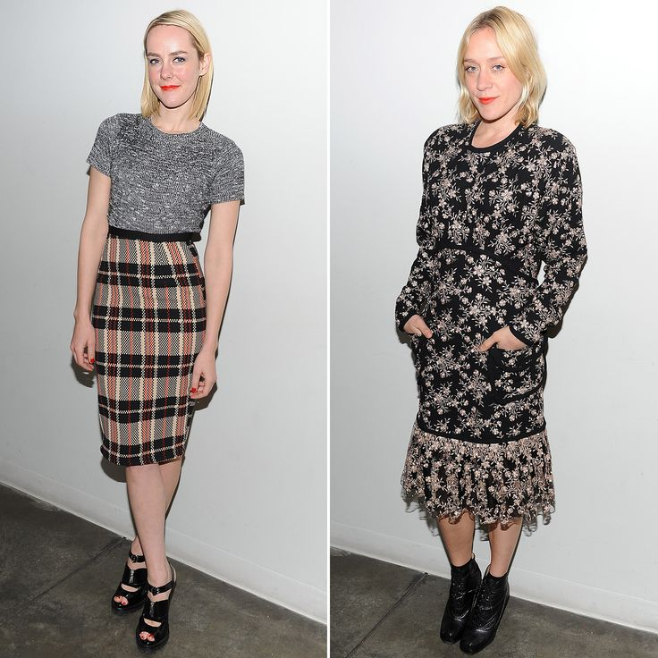 Did Jena Malone and Chloë Sevigny Coordinate Outfits on Purpose?