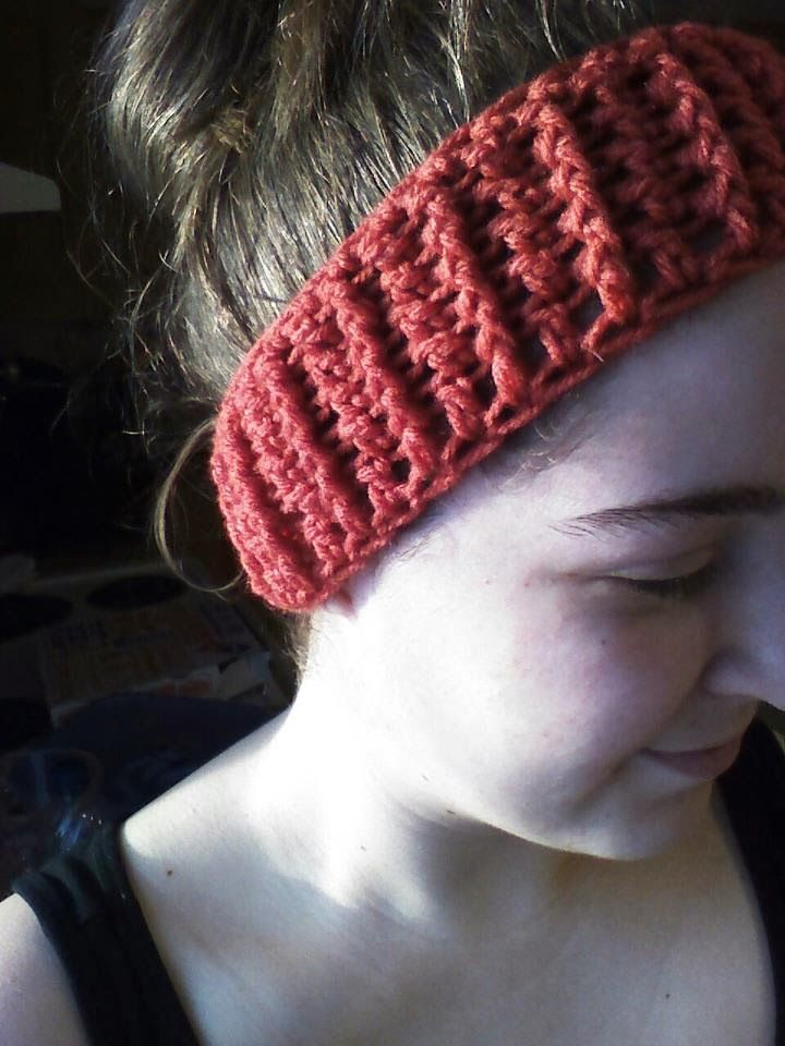 Ever since making the granny stripe headband , I've been wearing them every time I leave the house! My hair is almost always up in a bun, s...