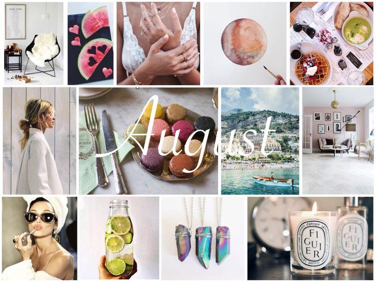 BLOGGED: August Favs  #MyLifeinPink