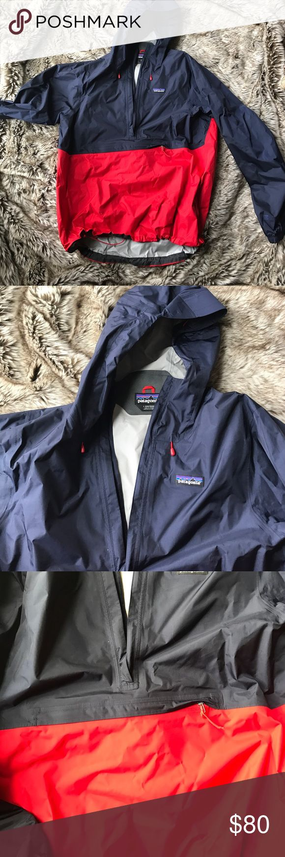 Patagonia Men's Torrentshell Pullover Windbreaker Great jacket for rain, only worn a few times great condition Patagonia Jackets & Coats Raincoats