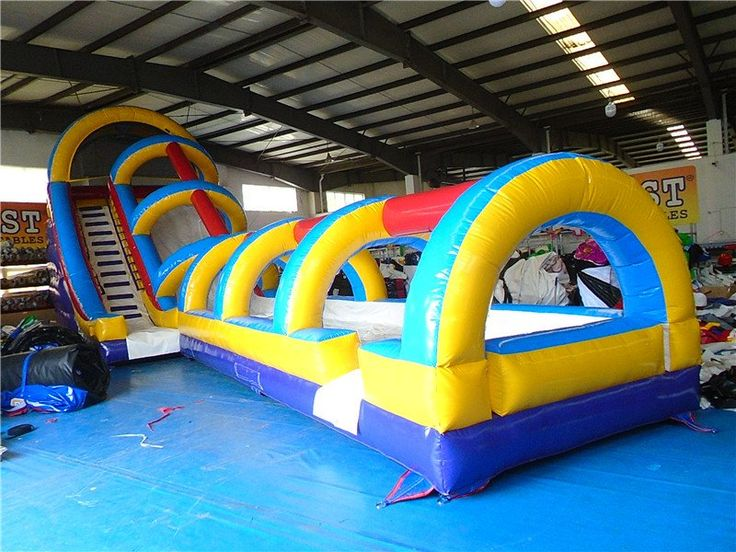 Cars Inflatable Slide