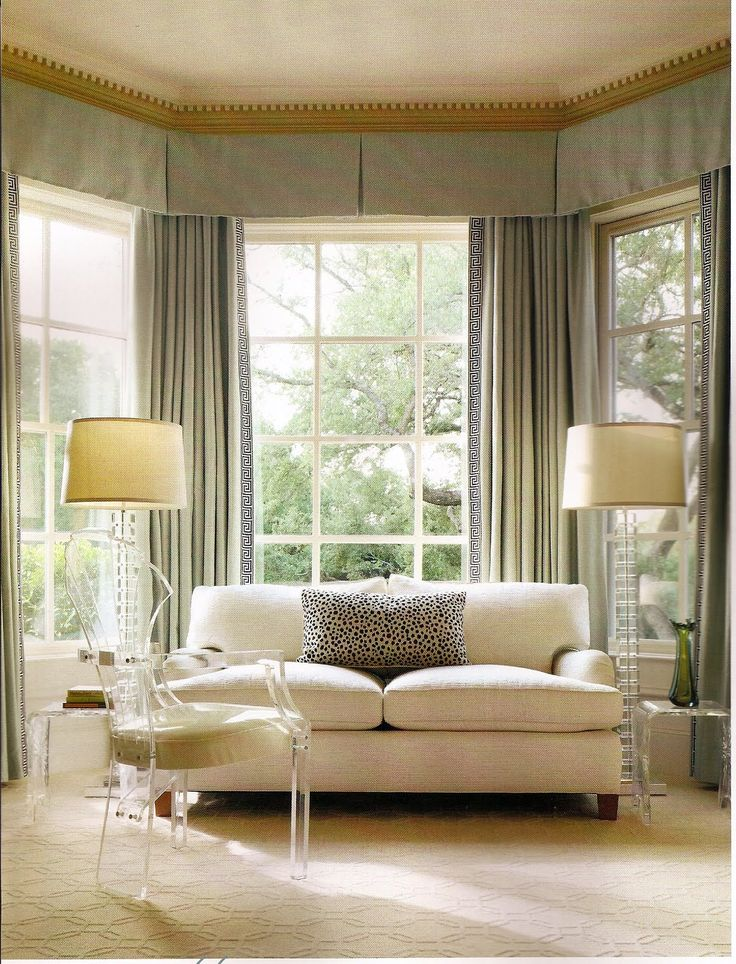 Via I Am Thinking About Using A Valance On The Windows In Our Guest Bedroom.