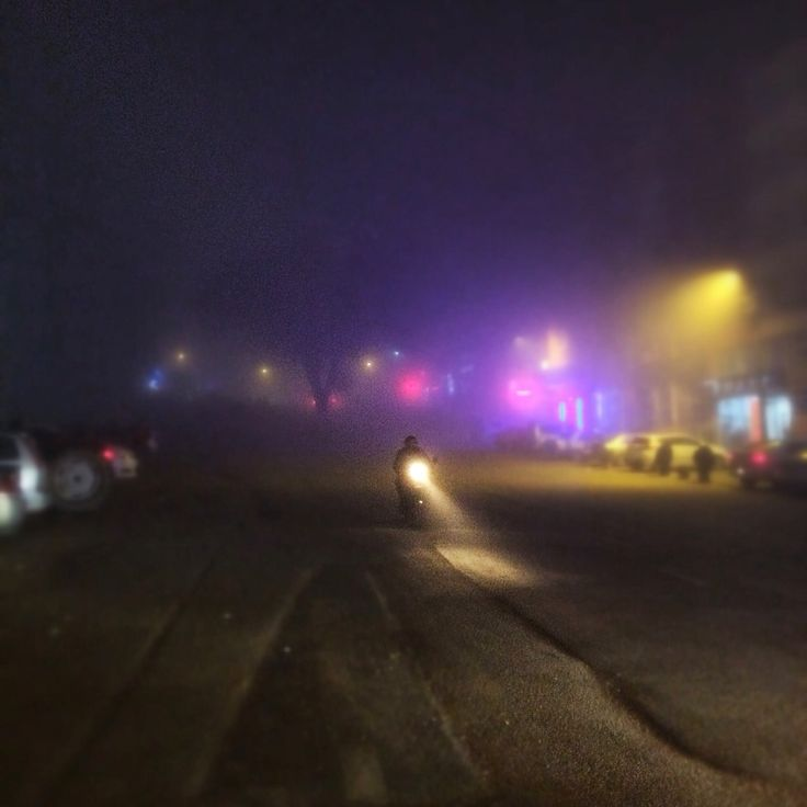 Bursa. Görükle. Foggy. Misty. Colors. Night. Lights