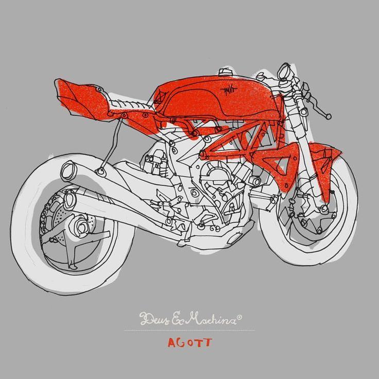 The Ago TT. ⠀⠀ Built at the @deusemporium by @wooliesworkshop, illustrated by @carbyt⠀ ⠀ ⠀ #deusart  via ✨ @padgram ✨(http://dl.padgram.com)