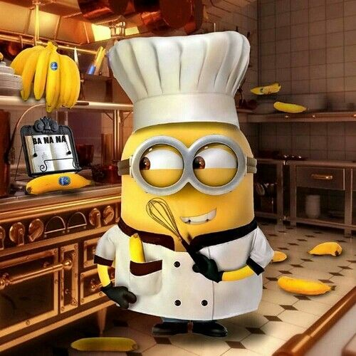 Banana kitchen. Minion Dream.