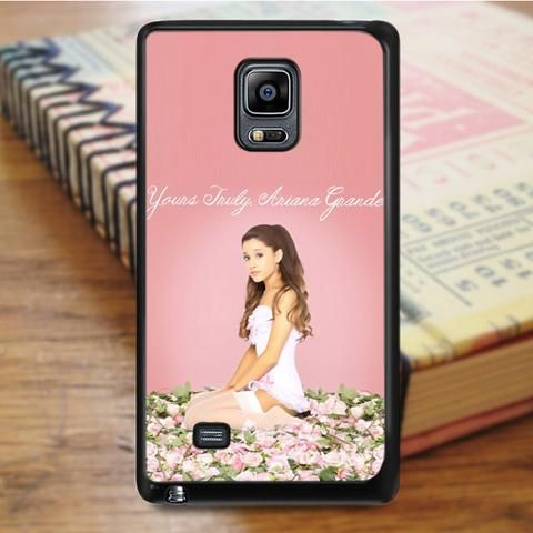 Yours Truly Ariana Grande Singer Samsung Galaxy Note 3 Case