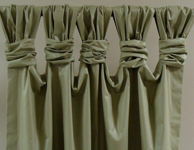 Yli Tuhat Ideaa Tab Top Curtains Pinterestiss
