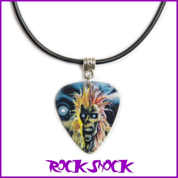 IRON MAIDEN Guitar Pick Necklace Pendant Check out this item in my Etsy shop https://www.etsy.com/uk/listing/479943426/iron-maiden-guitar-pick-necklace-pendant #ironmaidenpendant #ironnaidennecklace #ironmaidenguitarpick #heavymetaljewellery #heavymetalmemorabilia #heavymetal #heavymetalnovelties #eddie