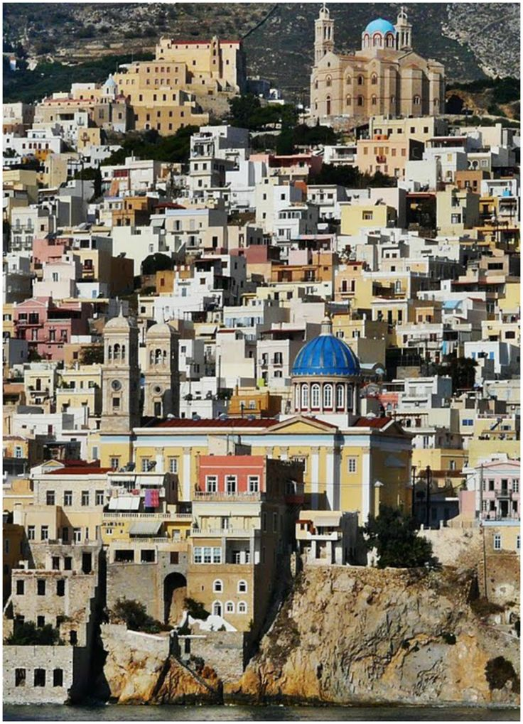 double magic view, Ermoupoli & Ano Syros -  Syros Greece