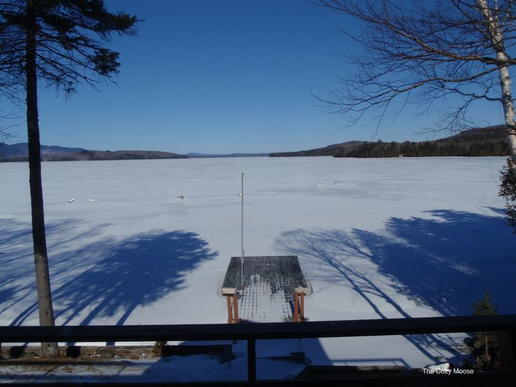 17 best winter in maine images on pinterest maine lakes for Fishing cabin rentals near me