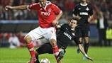 Óscar Cardozo (SL Benfica) & Nicolas Pareja (FC Spartak Moskva) | Benfica 2-0 Spartak. 07.11.12.