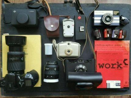Minolta SLR + 2 Objektive, Filme, Fotobuch, Belichtungsmesser... in Sachsen-Anhalt - Dessau   Digitalkamera & Zubehör gebraucht kaufen   eBay Kleinanzeigen
