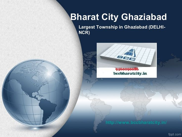 bharat-city-township-ghaziabad-9711133298 by bccbharatcity via Slideshare