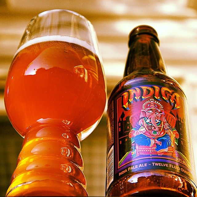 Indica IPA & the IPA glass. Awesome shot from @greeny964. #craftbeer #IPA #beer