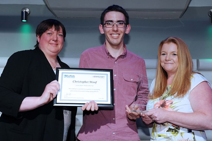 Christopher Woof Caring Studies Student of the Year Sponsored by Suffolk County Council Childcare Services