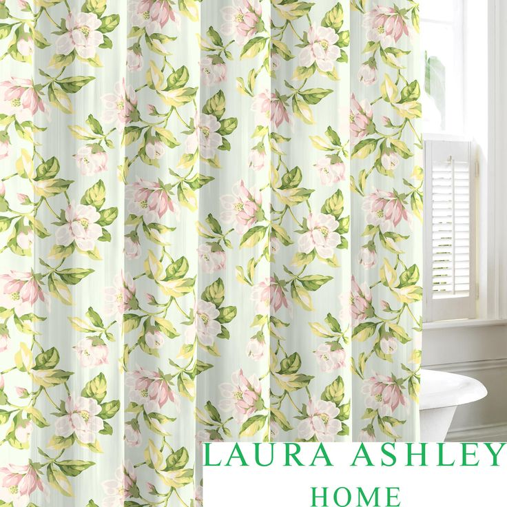 Transform Your Bathroom Into A Relaxing Garden With This Laura Ashley  Shower Curtain. Made From
