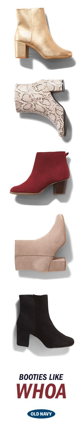 These booties, plus an ankle grazing pant make the ultimate fall fashion power-pairing. Which are your faves?