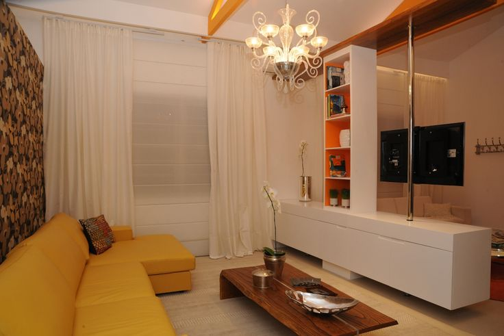 Sala Com Tv Giratoria ~ 45 best images about kitnet on Pinterest  Madeira, Square meter and
