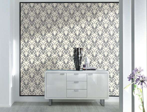 Aspiring Walls NZ | Wallpaper Designs for Walls | Interior Wallpaper > collections > traditional > Black and White 3
