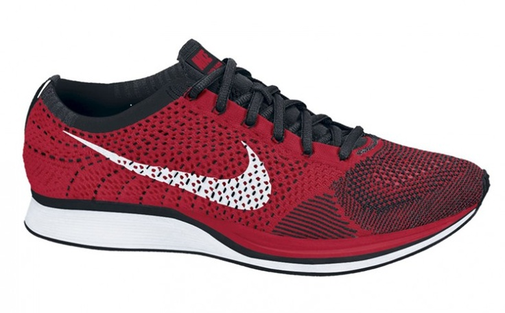 Nike Flyknit Racer red/black    new colorway