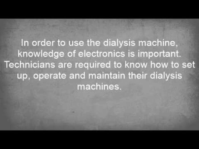Dialysis Technician Job Requirements
