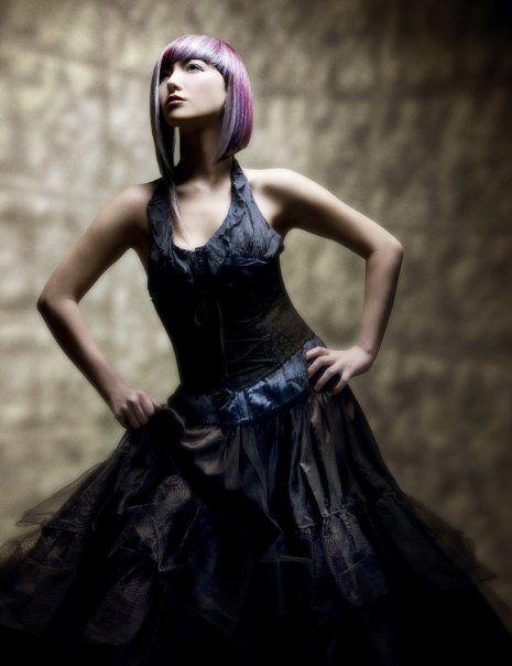Collection: Contra || Hair: Dimitrios Tsioumas || Photography: Babak || Make-up: John Simpson || Trendzoom Color Challenge