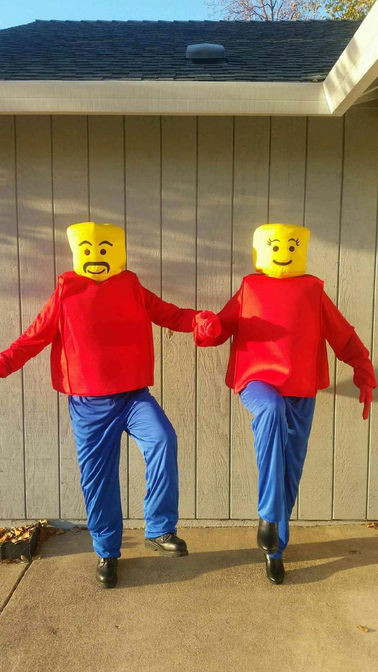 Lego Costume Male & Female.  We won 2nd place.