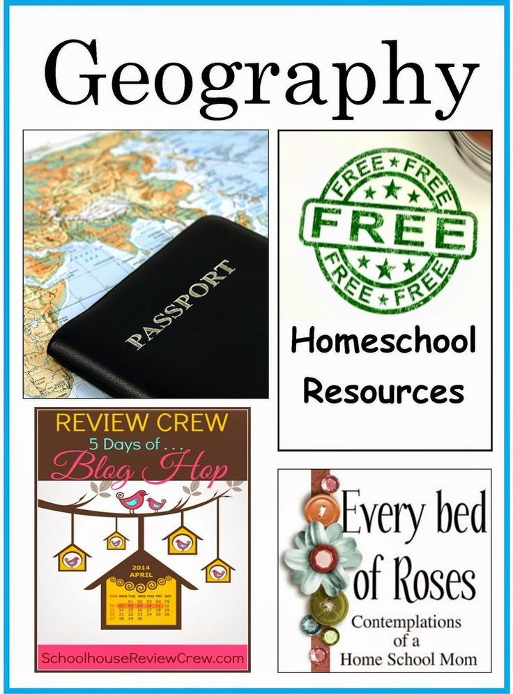 Every Bed of Roses: FREE Geography Resources for Homeschool