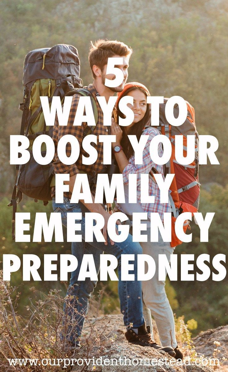 5 Ways to Boost Your Family Emergency Preparedness