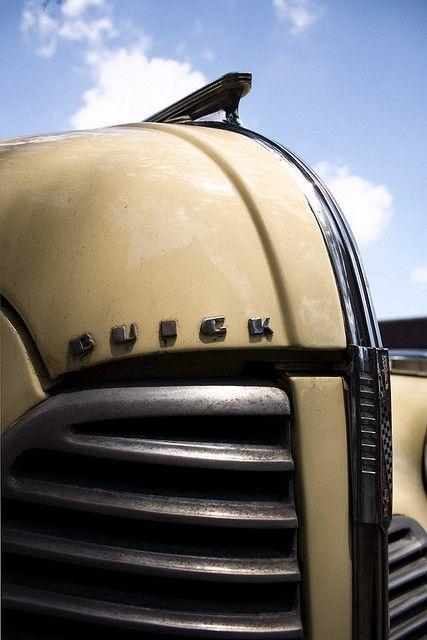 1940 Buick Sedan-Grille Detail #2