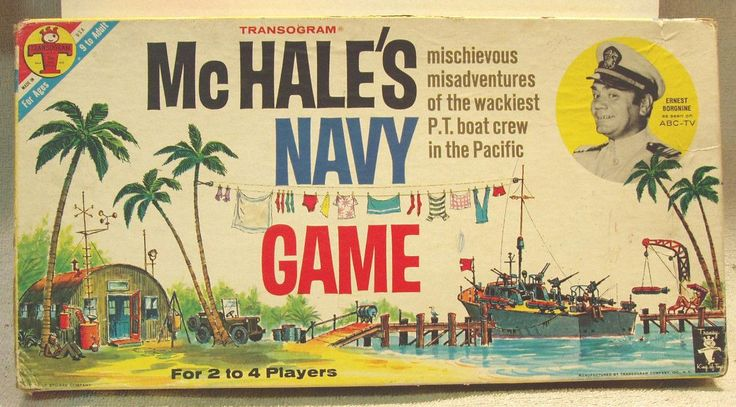 McHale's Navy Board Game © 1962