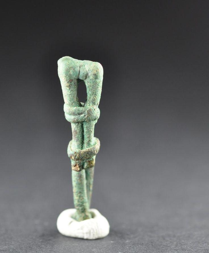 Amlash bronze figurine 2, 1st millenium B.C. Private collection