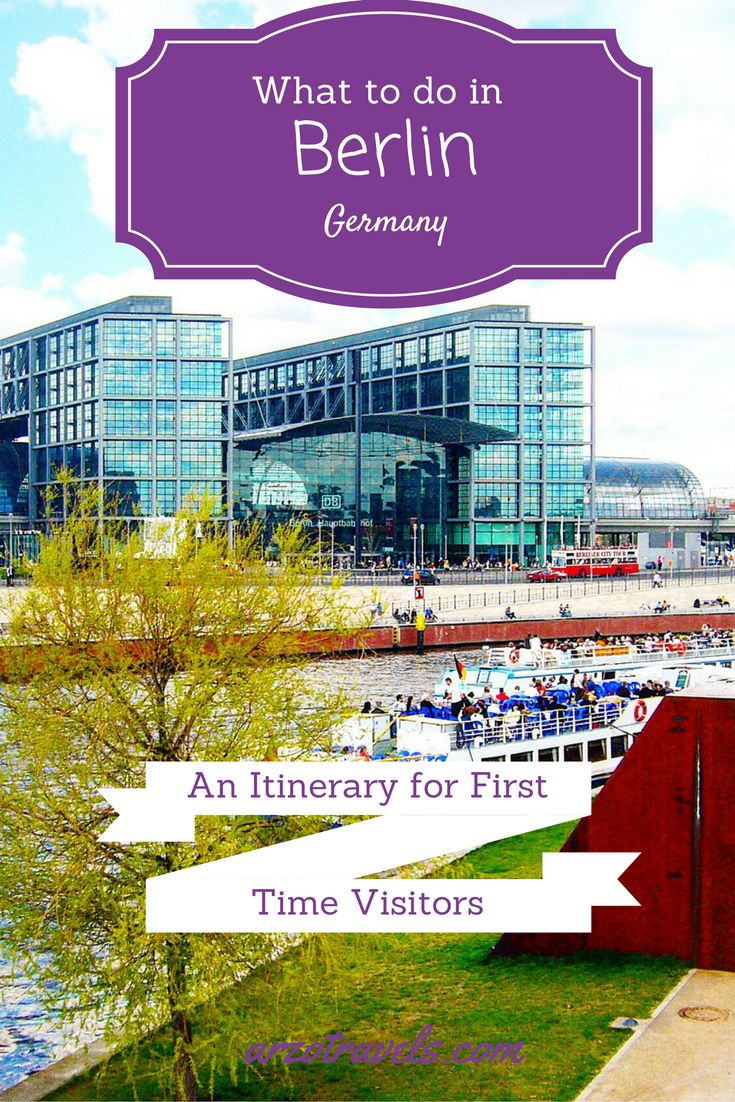Find out about activities and places you should not miss when you visit Berlin for the first time. Germany guide