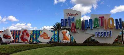 A Walk Around Disney's Art of Animation Resort at Walt Disney World - photos and tips