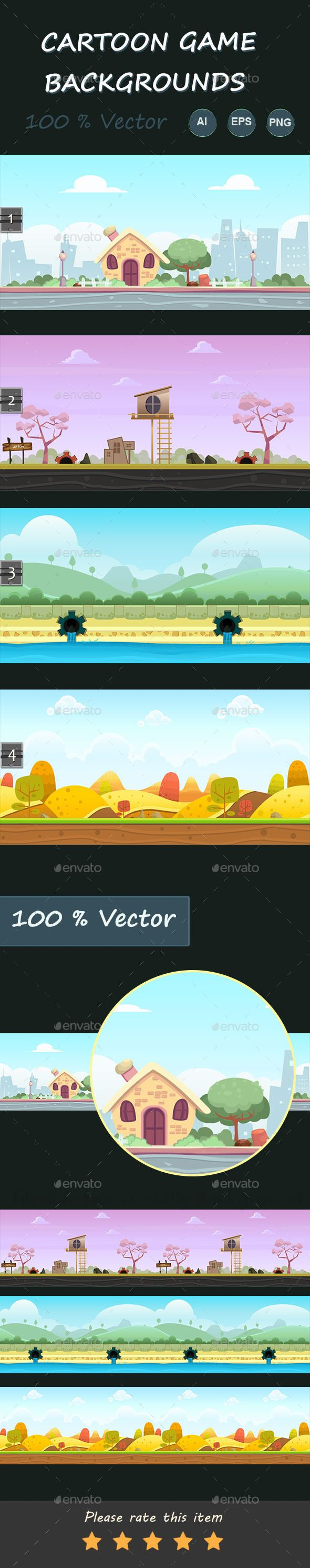 Cartoon Game Backgrounds Download here: https://graphicriver.net/item/cartoon-game-backgrounds/11570032?ref=KlitVogli