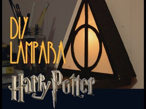 PP FANDOM. Lampara de Harry Potter DIY. PP Arts - YouTube