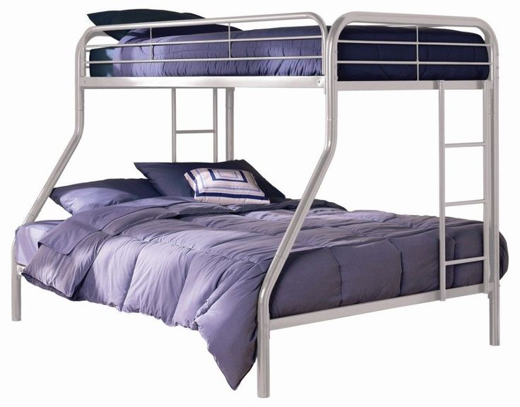 Twin over full bunk bed with mattress included Twin bed with mattress included