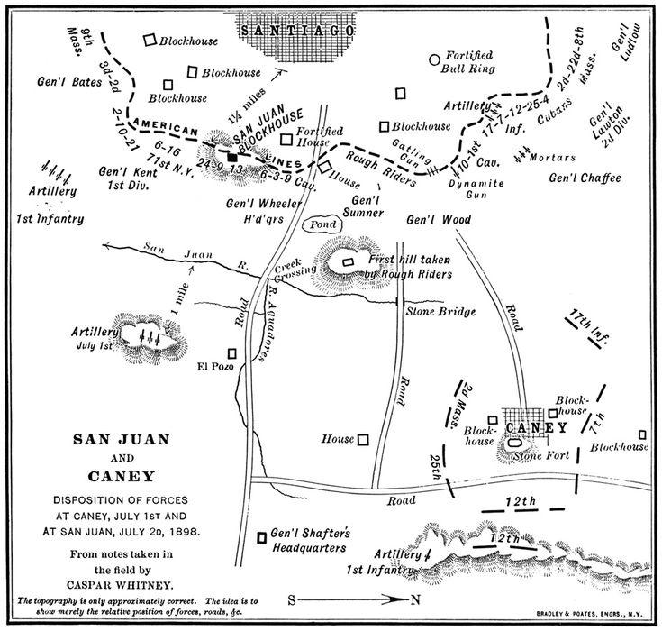 Battle of San Juan Hill, July 2, 1898, The Spanish-Cuban