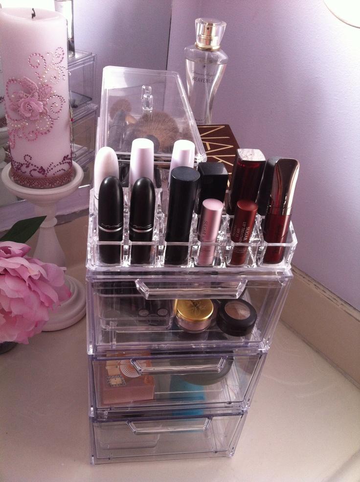 58 best images about nail polish makeup storage on pinterest spice racks food stands and. Black Bedroom Furniture Sets. Home Design Ideas