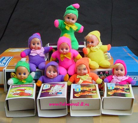 More of the tiny dolls we loved.