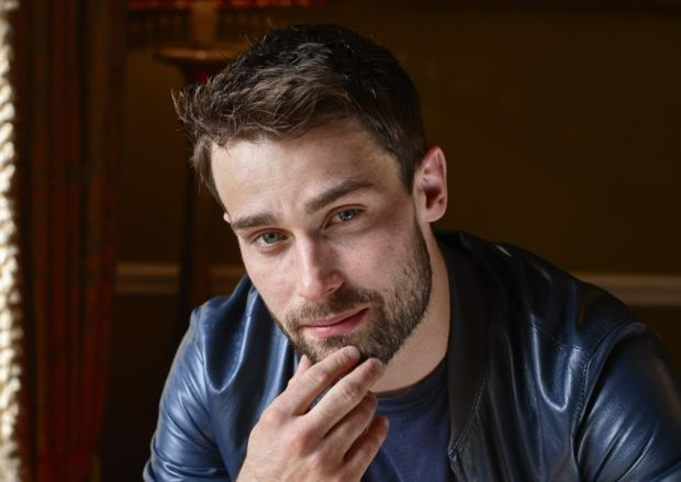 Actor Christian Cooke, who plays the character Stewart in Stonemouth. Picture: Debra Hurford Brown