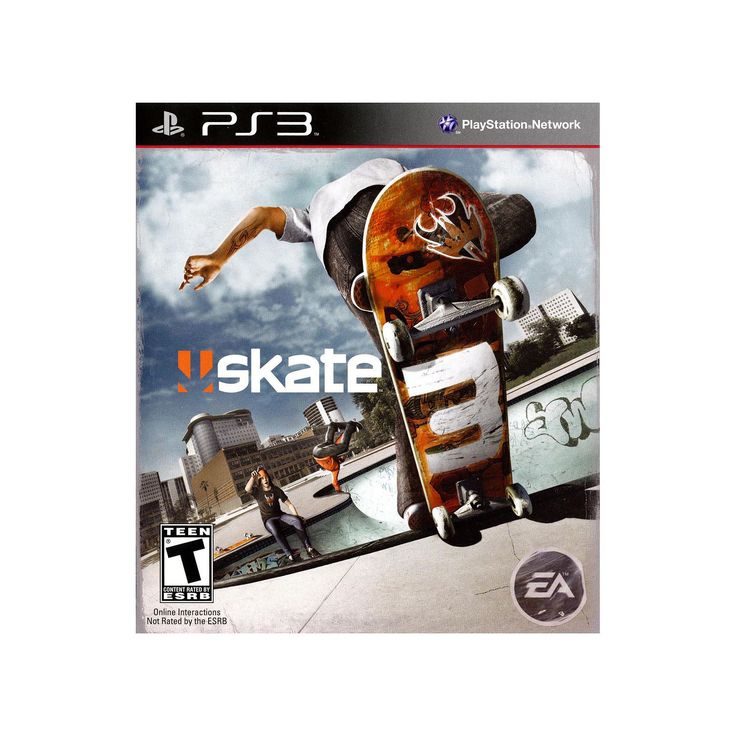 Skate 3 for Playstation 3, Multicolor