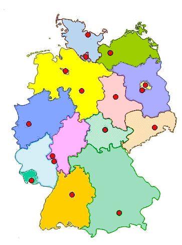 Die deutschen Bundesländer http://www.henked.de/laender/uebersicht.htm